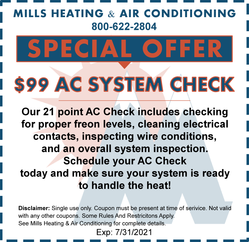 ac system check special offer discount coupon july 2021